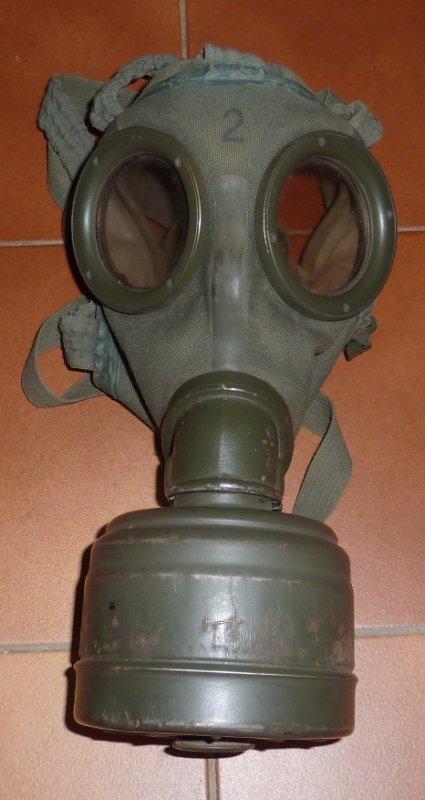 masque à gaz modèle 1930