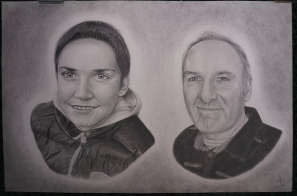 Commande portraits