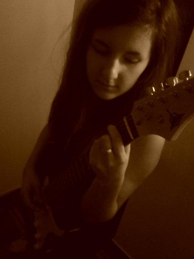 My new lovely guitar <3