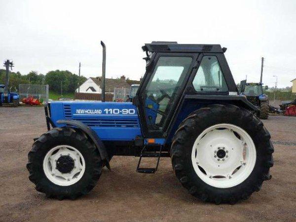 Blue Fiatagri 110-90 DT turbo
