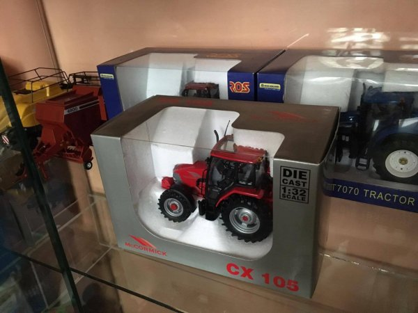 a vendre : Mc Cormick CX 105  (15 euros) Vendu