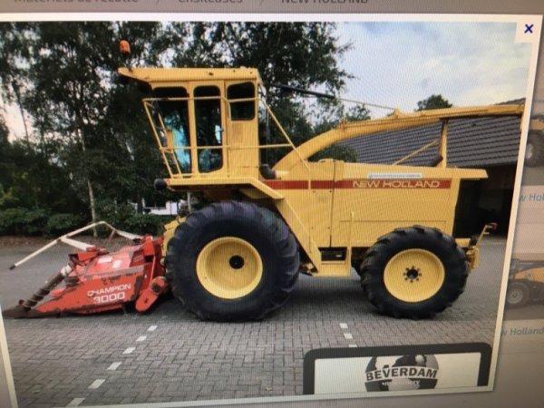 Nouveau projet : ensileuse New holland 2305