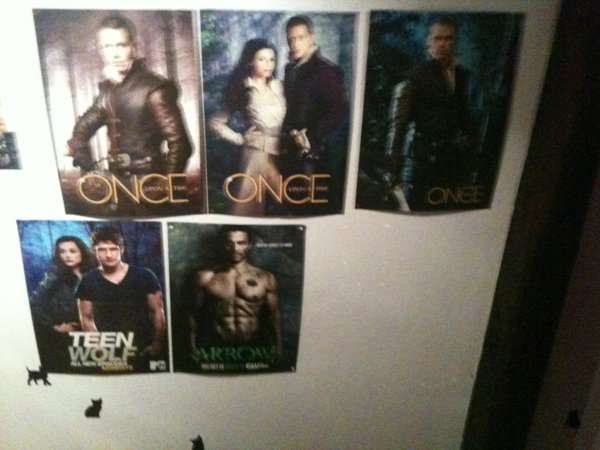 Mes 3 posters OUAT