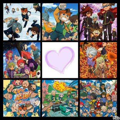 Quelque sites pour les fan d'Inazuma Eleven