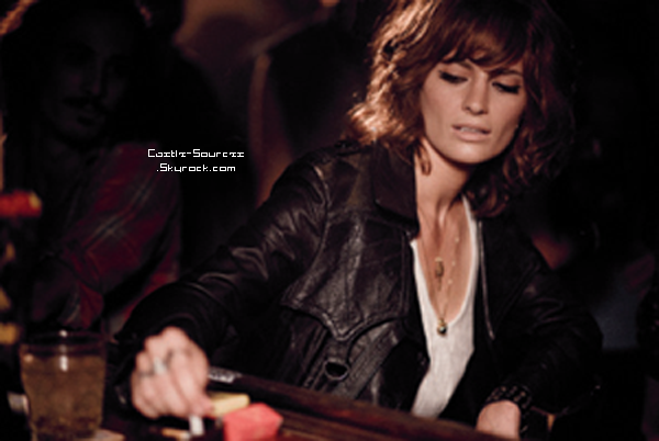 Stana Katic   CBGB  - Genya Ravan        Castle   Sneak-Peek 5x02
