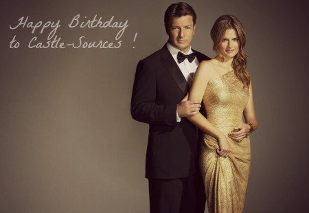 HAPPY BIRTHDAY 2 YEARS TO CASTLE-SOURCES ♥