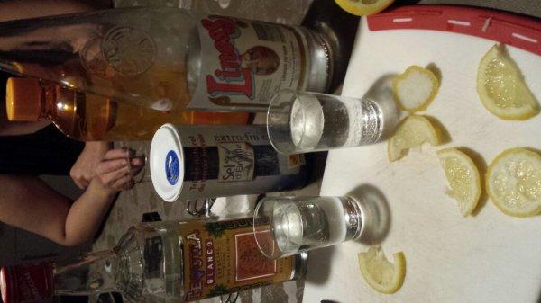 En mode tequila frap