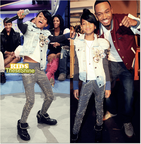 » Willow Smith dans l'émission BET 106 & Park.