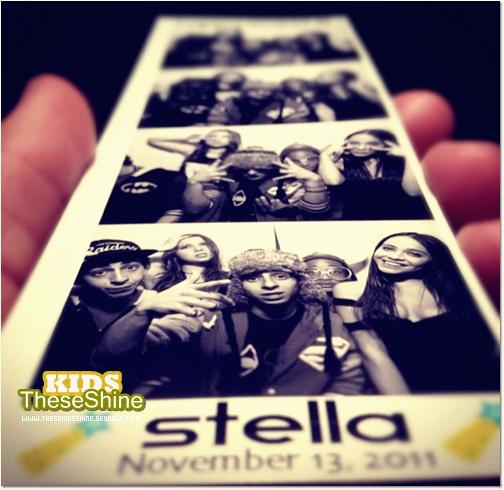 » Jaaden Smith à l'anniversaire de Stella Hudgens.