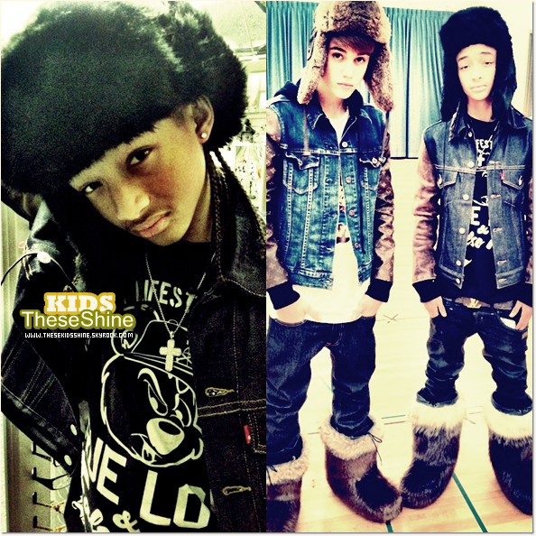 » Jaden Smith & Justin Bieber.