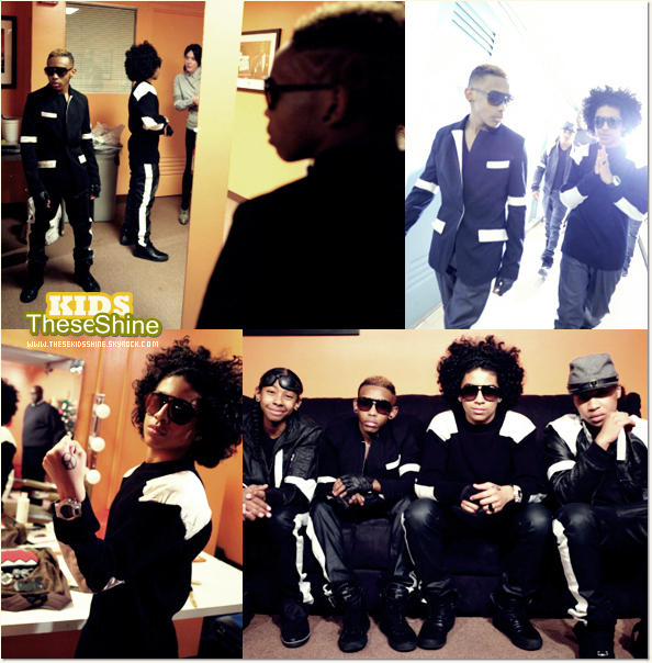 » Mindless Behavior dans l'émission 106 & Park !