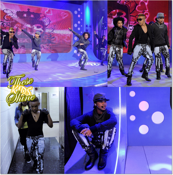 » Mindless Behavior dans l'émission BET 106 & Park. [ Part II ]
