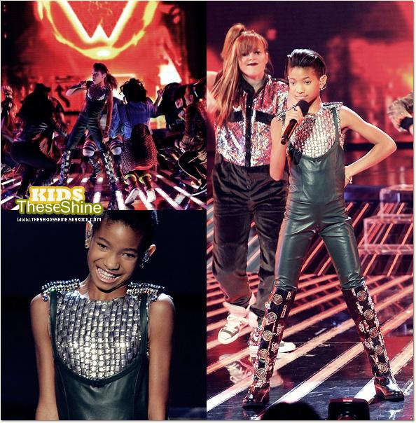 » Willow dans l'émission X Factor (photos).