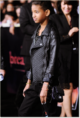 » Willow Smith à l'avant première de Twilight : Breaking Down !