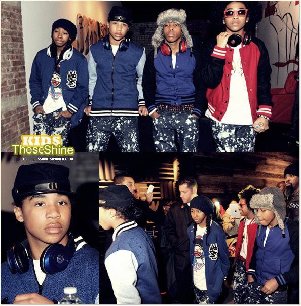 » Mindless Behavior à New York.