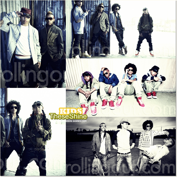 » Mindless Behavior pour Rolling Out.