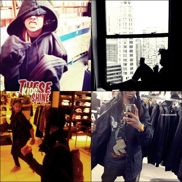 » Photos instagram de Ray Ray et Princeton.