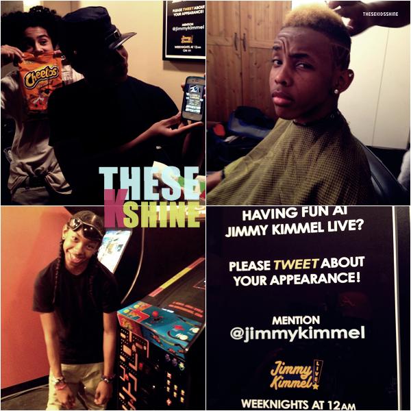 » Mindless Behavior on Jimmy Kimmel ! Hier soir, le groupe à fait une apparition sur le plateau de Jimmy Kimmel. Ils ont interprété leur dernier single Girls Talkin' Bout. Qu'en pensez vous ?