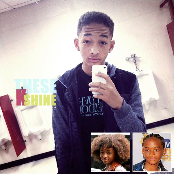 »  Say ' hi ' to the new Jaden ! Non non, vous ne rêvez pas... Jaden s'est bel et bien coupé les cheveux ! Comment le trouvez vous ?