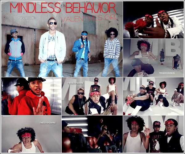• MINDLESS BEHAVIOR - VALENTINE'S GIRL •