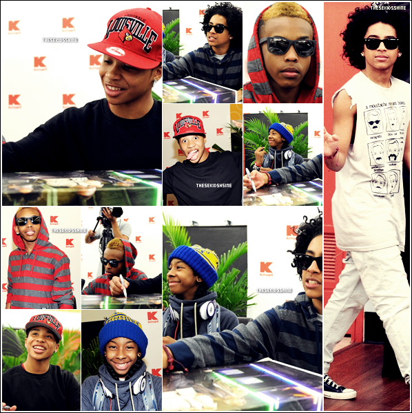 • MINDLESS BEHAVIOR @ KMART •