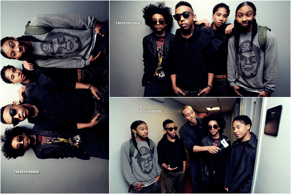 • MINDLESS BEHAVIOR ON BET 106 & PARK ••