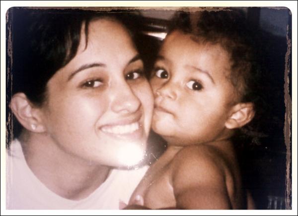 Princeton et sa maman lorsqu'il n'était encore qu'un bébé. Adorable non ?