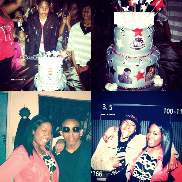 Découvrez des photos de la fête (très en avance) d'anniversaire de Roc, datant du samedi 21 avril.