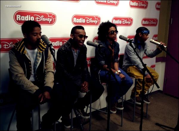 Ray Ray, Princeton, Prodigy et Roc Royal étaient hier (lundi 23 avril) de passage à Radio Disney.