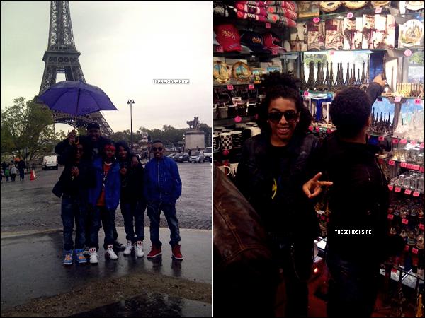 Mindless Behavior étaient aujourd'hui dans notre capital et en ont profiter pour prendre des photos.