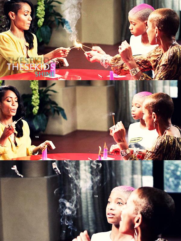 Découvrez des photos de Willow, sa maman Jada et sa grand-mère Adrienne pour le Red Table Talks vidéo