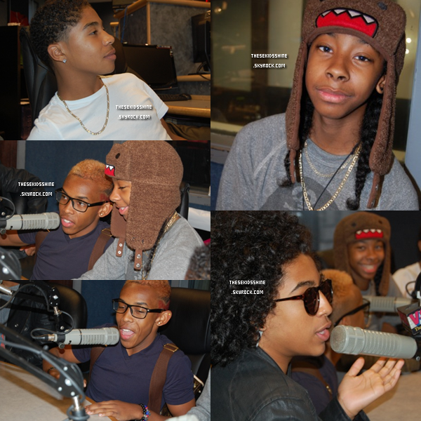 06.08.2012 Mindless Behavior dans la station de radio V-103 pour une petite interview, ce matin à Atlanta. ( vidéo )