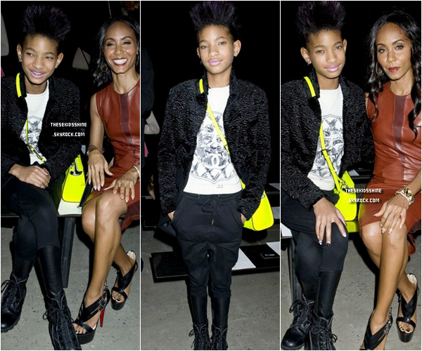 » Rattrapage des news.  Willow Smith et sa maman Jada se sont rendus au Narciso Rodriguez Fall 2013 fashions show lors du Mercedes-Benz Fashion Week, à New York City. // 12 Février 2013