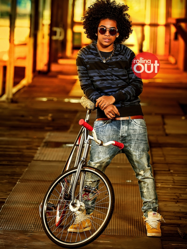 » Nouveauté.   Photoshoot Mindless Behavior - Princeton  pour le magasine Rolling Out. // 2013