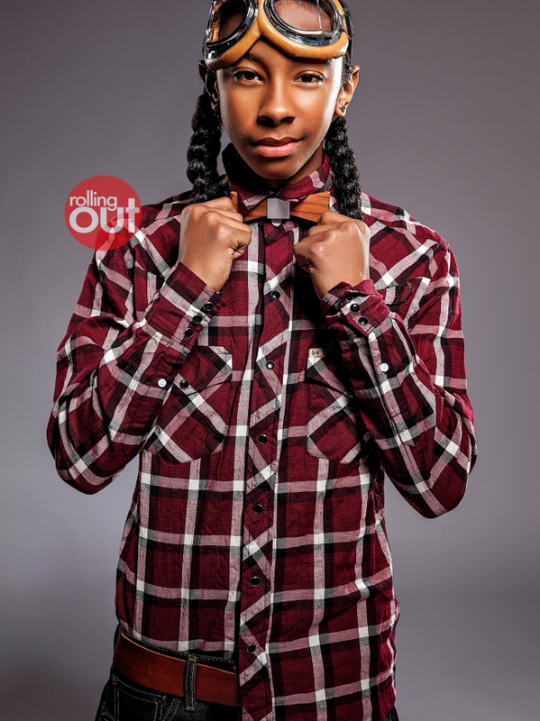 » Nouveauté.   Photoshoot Mindless Behavior - Ray Ray pour le magasine Rolling Out. // 2013