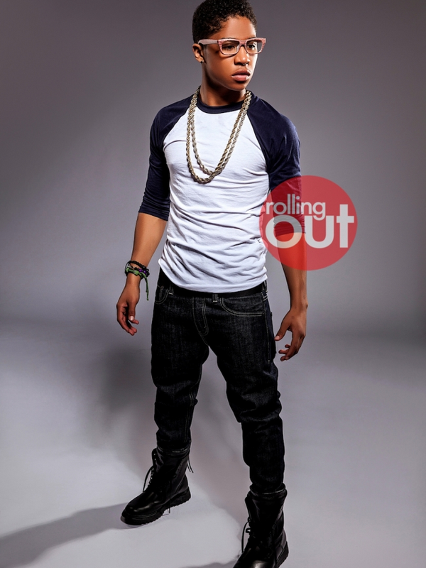 » Nouveauté.   Photoshoot Mindless Behavior - Roc Royal  pour le magasine Rolling Out. // 2013