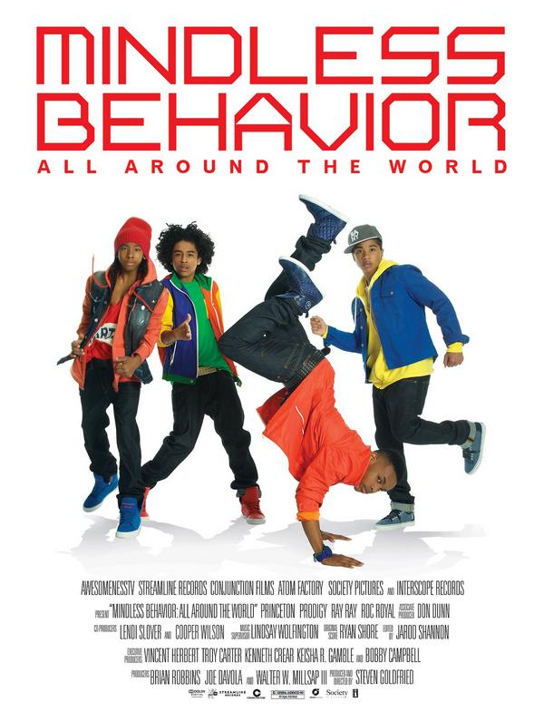 » Nouveauté.  Mindless Behavior à l'avant première de leur film documentaire All Around The World à Los Angeles.  L'avant première fut suivit d'un concert au City Walk puis d'une séance de dédicace, toujours à Los Angeles. // 10 Mars 2013