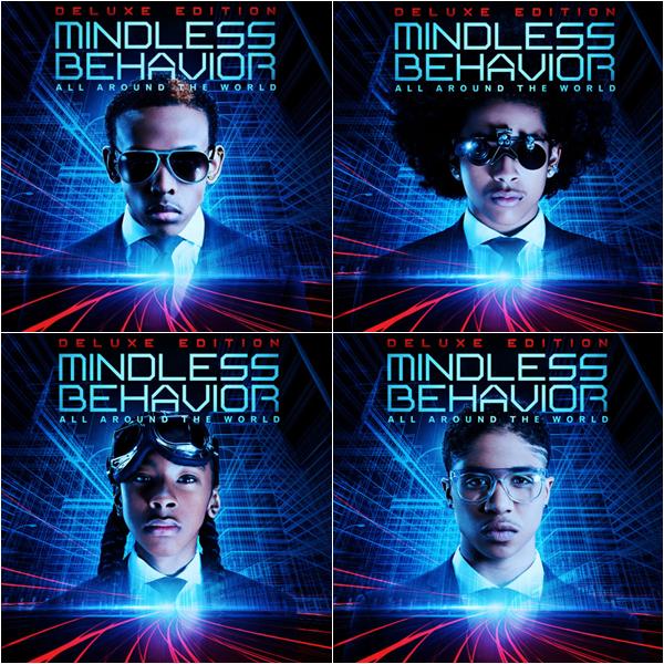 » Nouveauté.   Ecoute l'album All Around The World de Mindless Behavior..