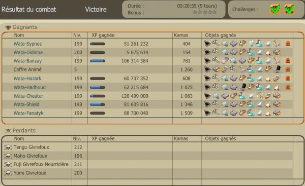 Objectif [avoir 8 persos ≥ level 199] atteint.