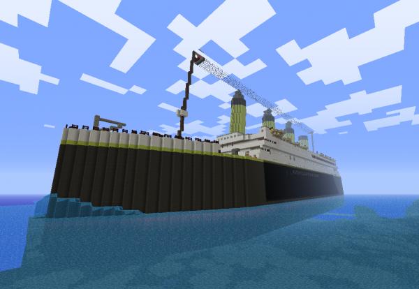 Le titanic ...