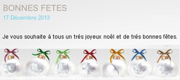 Mireille Mathieu - Site officiel - Bonnes Fêtes!!!