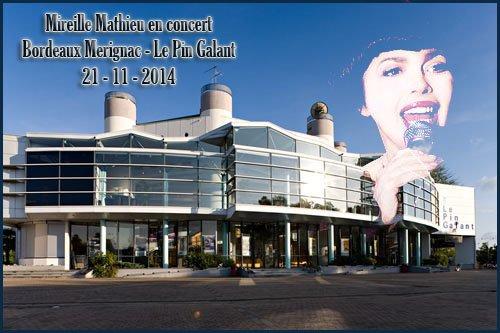 Concerts Mireille Mathieu - Tournée Novembre 2014 (3)