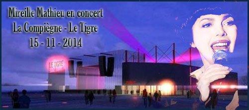Concerts Mireille Mathieu - Tournée Novembre 2014 (2)
