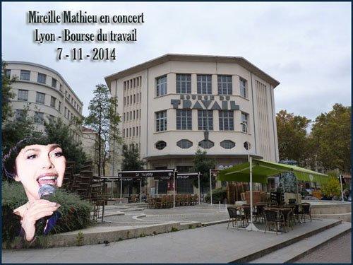 Concerts Mireille Mathieu - Tournée Novembre 2014 (1)