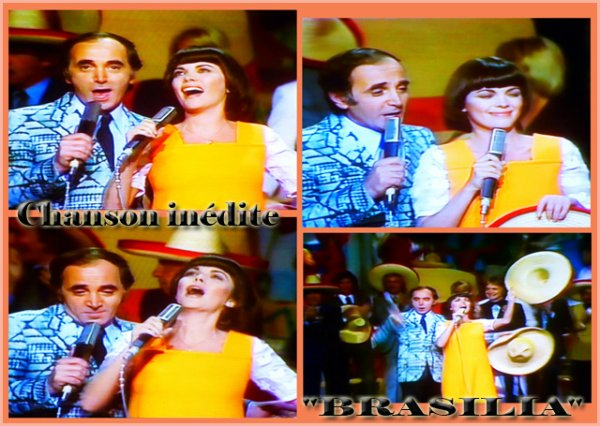 Chanson inédite en duo! - Mimi et Charles Aznavour