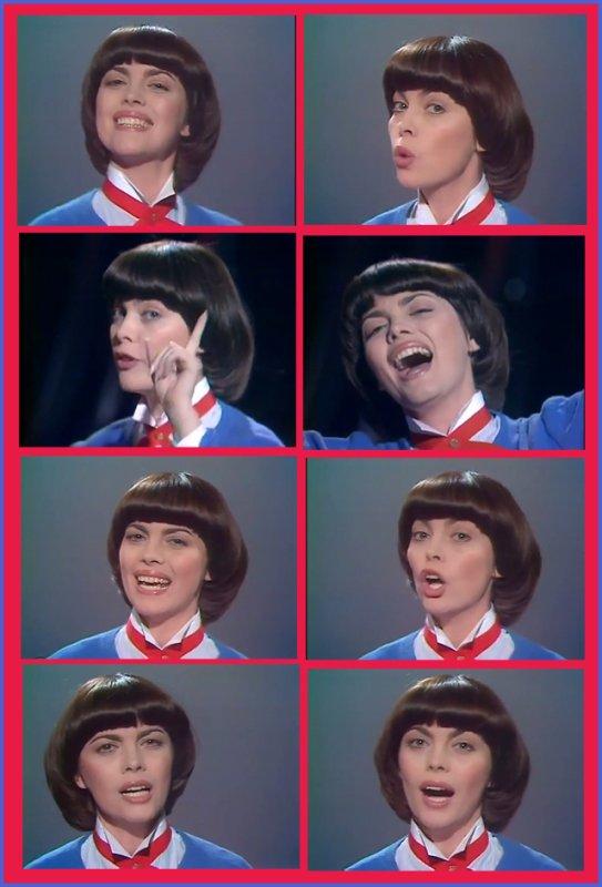 Mireille Mathieu - Mamy Oh Mamy (1980)