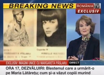Margareta Paslaru despre Mireille Mathieu - Vidéo