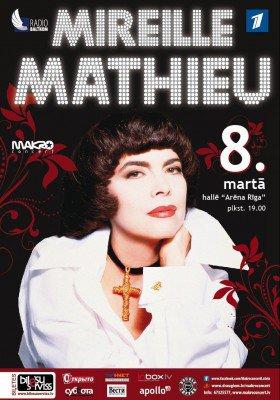 Mireille en concert à RIGA - 8/03/2014
