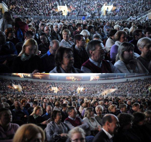 MM en concert à Riga