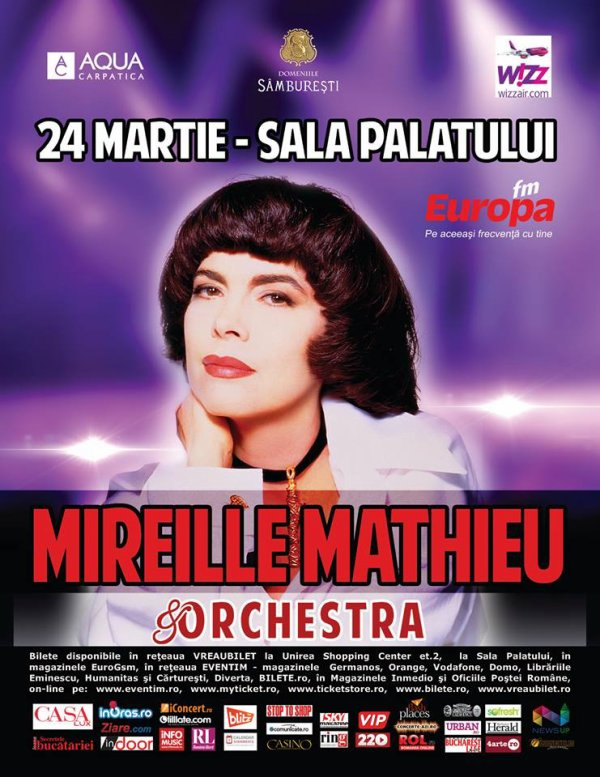 MM en concert à Bucarest - 24 / 03 / 2014